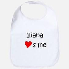 Cute Iliana Bib