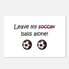 Leave My Soccer Balls Alone! Postcards (Package of