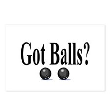 Got Balls? (Bowling) Postcards (Package of 8)