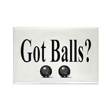 Got Balls? (Bowling) Rectangle Magnet