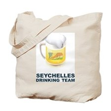 Seychelles Drinking Team Tote Bag