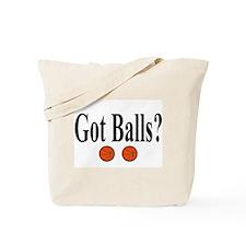 Got Balls? (Basketball) Tote Bag
