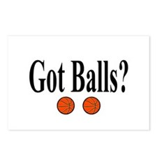Got Balls? (Basketball) Postcards (Package of 8)