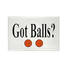 Got Balls? (Basketball) Rectangle Magnet