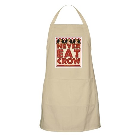 Never Eat Crow BBQ Apron
