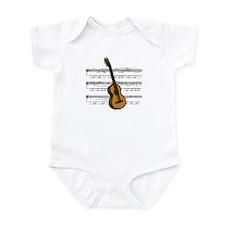 Music (Guitar) Infant Bodysuit