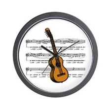 Music (Guitar) Wall Clock