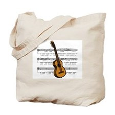 Music (Guitar) Tote Bag