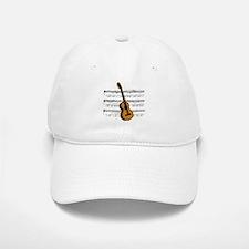 Music (Guitar) Baseball Baseball Cap