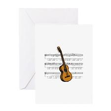 Music (Guitar) Greeting Card