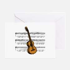 Music (Guitar) Greeting Card