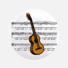 "Music (Guitar) 3.5"" Button"