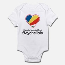 Happily Married Seychellois Infant Bodysuit