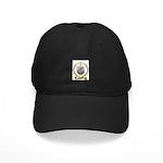 CREPEAU Family Crest Black Cap