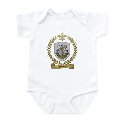 CREPEAU Family Crest Infant Creeper