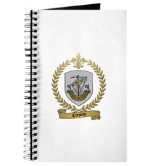 CREPEAU Family Crest Journal