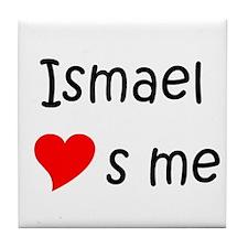 Funny Ismael Tile Coaster