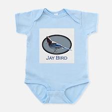 Jay Bird (large design) Infant Creeper