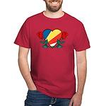 Heart Seychelles Dark T-Shirt