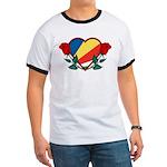 Heart Seychelles Ringer T