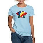 Heart Seychelles Women's Light T-Shirt