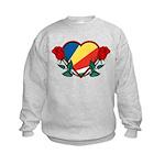 Heart Seychelles Kids Sweatshirt