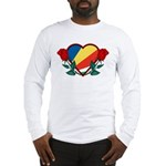 Heart Seychelles Long Sleeve T-Shirt
