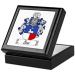 Bono Family Crest Keepsake Box