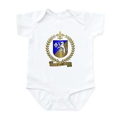CROCHET Family Crest Infant Creeper