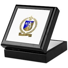 CROCHET Family Crest Keepsake Box