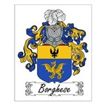 Borghese Family Crest Small Poster