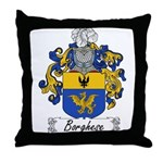 Borghese Family Crest Throw Pillow