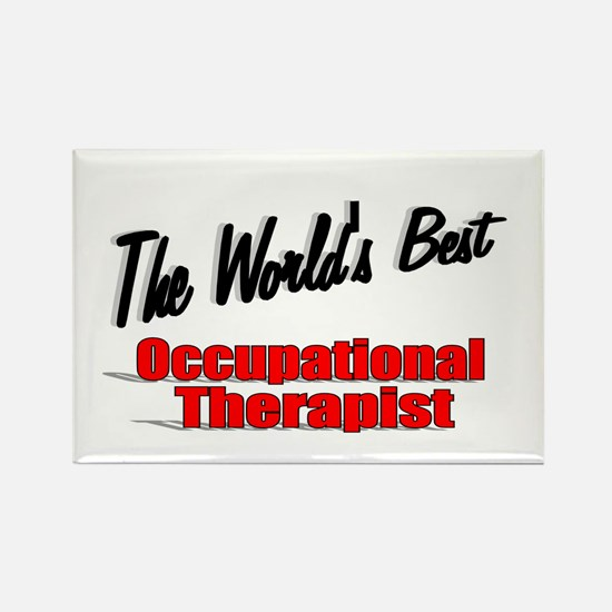 """The World's Best Occupational Therapist"" Rectangl"