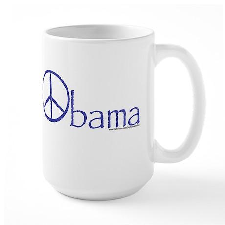 Barack the Peace Large Mug
