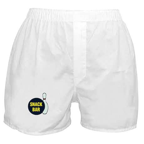 Snack Bar (Bowling) Boxer Shorts
