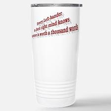 Every Left-hander Stainless Steel Travel Mug