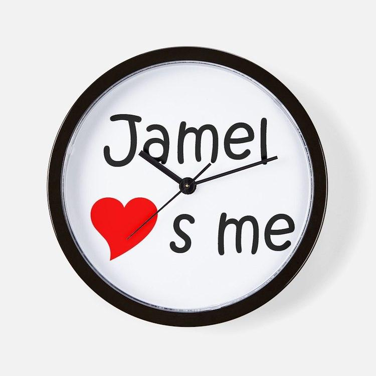 Cute Jamel Wall Clock