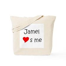 Cute Jamel Tote Bag