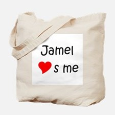 Cute Jamel Tote Bag