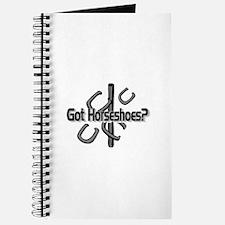 Got Horseshoes? Journal