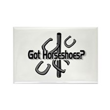 Got Horseshoes? Rectangle Magnet (10 pack)
