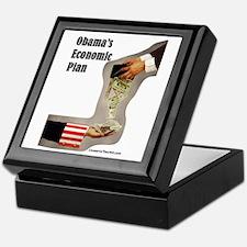 """""""Obama's Economic Plan"""" Keepsake Box"""