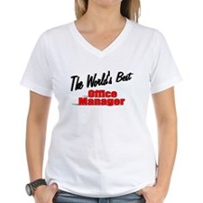 """The World's Best Office Manager"" Shirt"