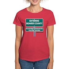 Entering Beaver County Tee