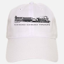 CHOO CHOO TRAIN Baseball Baseball Cap