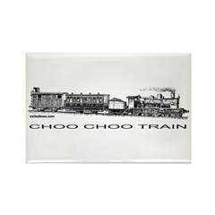 CHOO CHOO TRAIN Rectangle Magnet