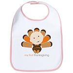 First Thanksgiving Baby Bib