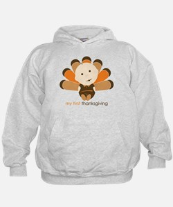 First Thanksgiving Baby Hoodie