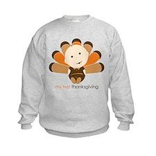 First Thanksgiving Baby Sweatshirt