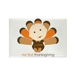 First Thanksgiving Baby Rectangle Magnet (10 pack)